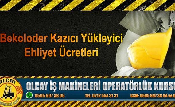 operatör belgesi, operatör kursu, sertifikası, ücreti, ücretleri, iş makinesi, masrafları