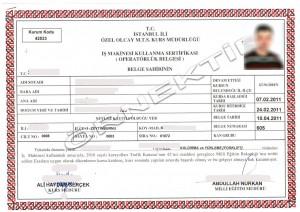 fokrlift sertifikası, forklift belgesi, portif, forlif, forklift lisansı