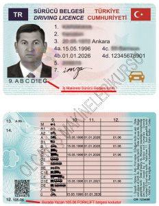 g sınıfı ehliyet, forklift g sınıfı, yeni tip forklift ehliyeti, forklift ehliyeti kodu